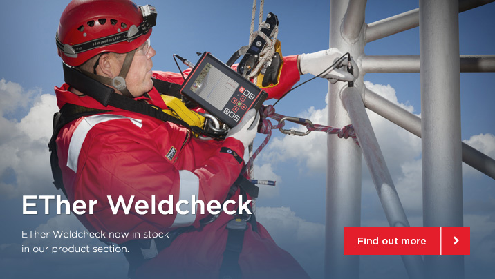 ETHER WELDCHECK NOW AVAILABLE FOR HIRE